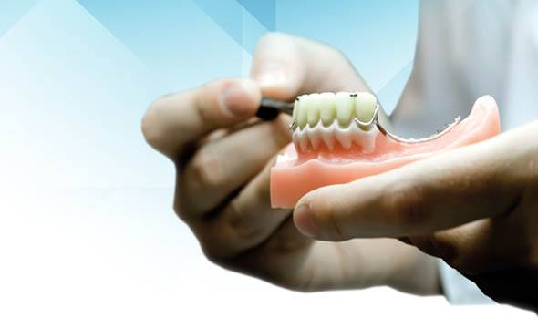 reparar protesis dental